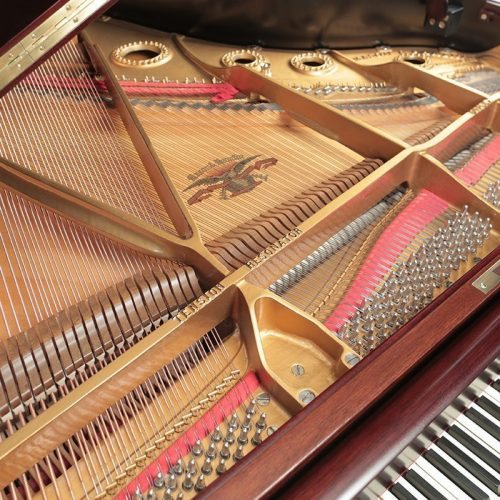refinished mason hamlin a grand piano restored