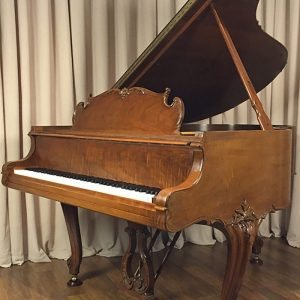 restored walnut steinway grand piano louis xv