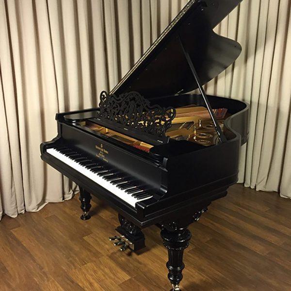 steinway grand piano victorian a ebony