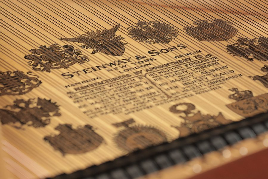 steinway soundboard sitka spruce