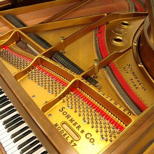 sohmer grand piano restored refinished model 57