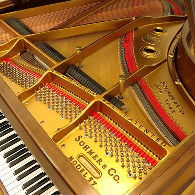 sohmer grand piano restored refinished model 57