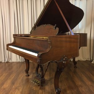 1917 Steinway model A3 Grand Piano Louis XV Style Mahogany wood