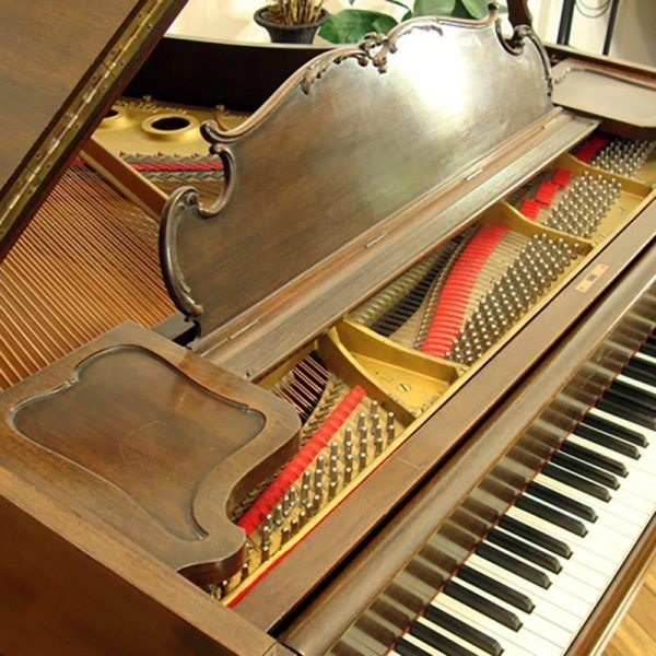 steinway louis xv L grand piano used