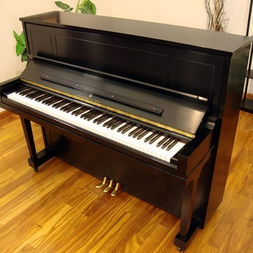 1999 Steinway 1098 Upright Piano in Ebony