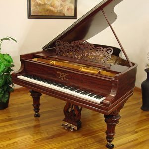 1906 Steinway A Grand Piano Mahogany Victorian Style Restored