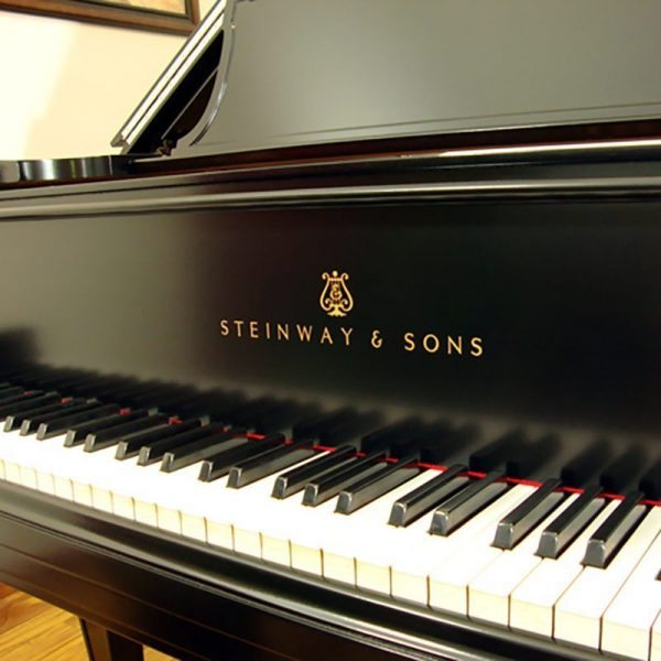 1917 Steinway A3 Grand Piano Traditional Ebony Restored