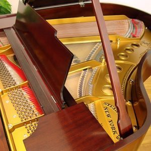 1921 Steinway M Grand Piano Mahogany Traditional Style