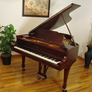 1921 Steinway M Grand Piano Mahogany Traditional Style