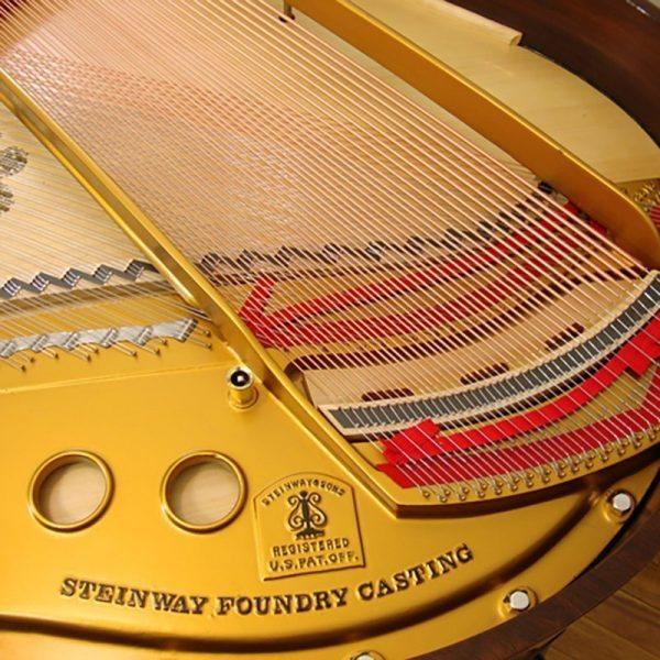 1936 Steinway Louis XV model S Grand Piano in Walnut Restored