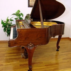 1936 Steinway Louis XV model S Grand Piano in Walnut Restored