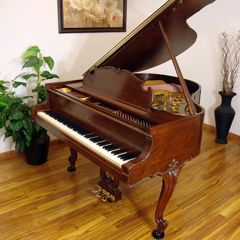 1936 Steinway Louis Xv Grand Piano Walnut Model S Piano