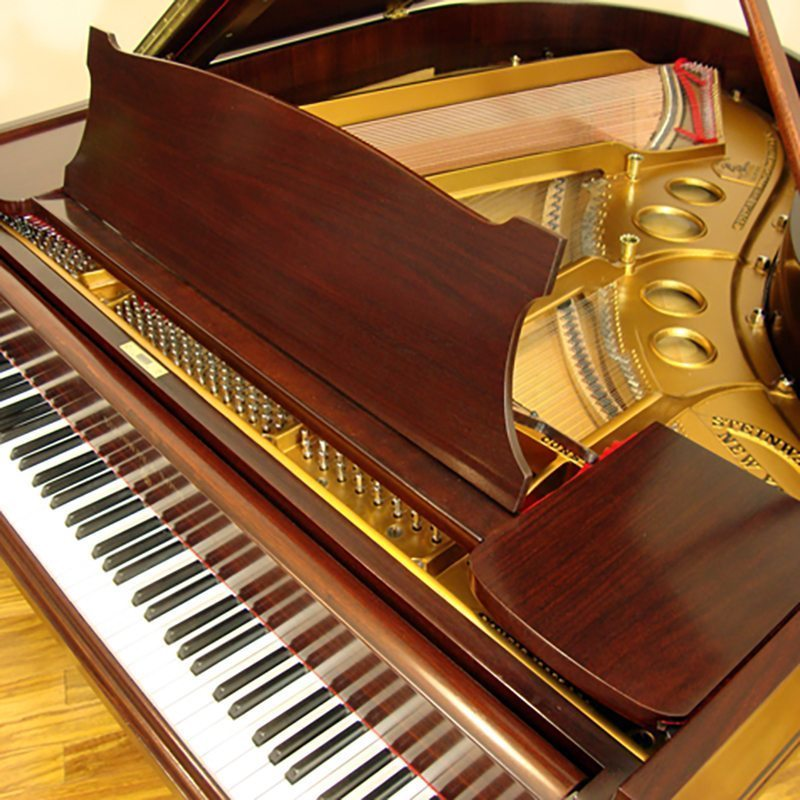 1922 Hamburg Steinway model O Grand Piano in Rosewood Traditional Style