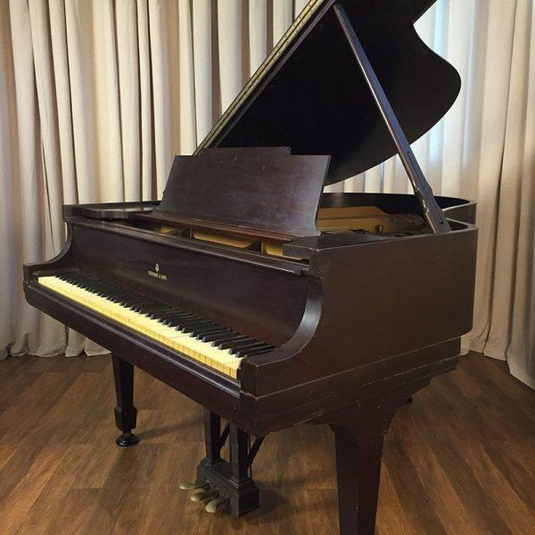 steinway m grand piano in mahogany original condition
