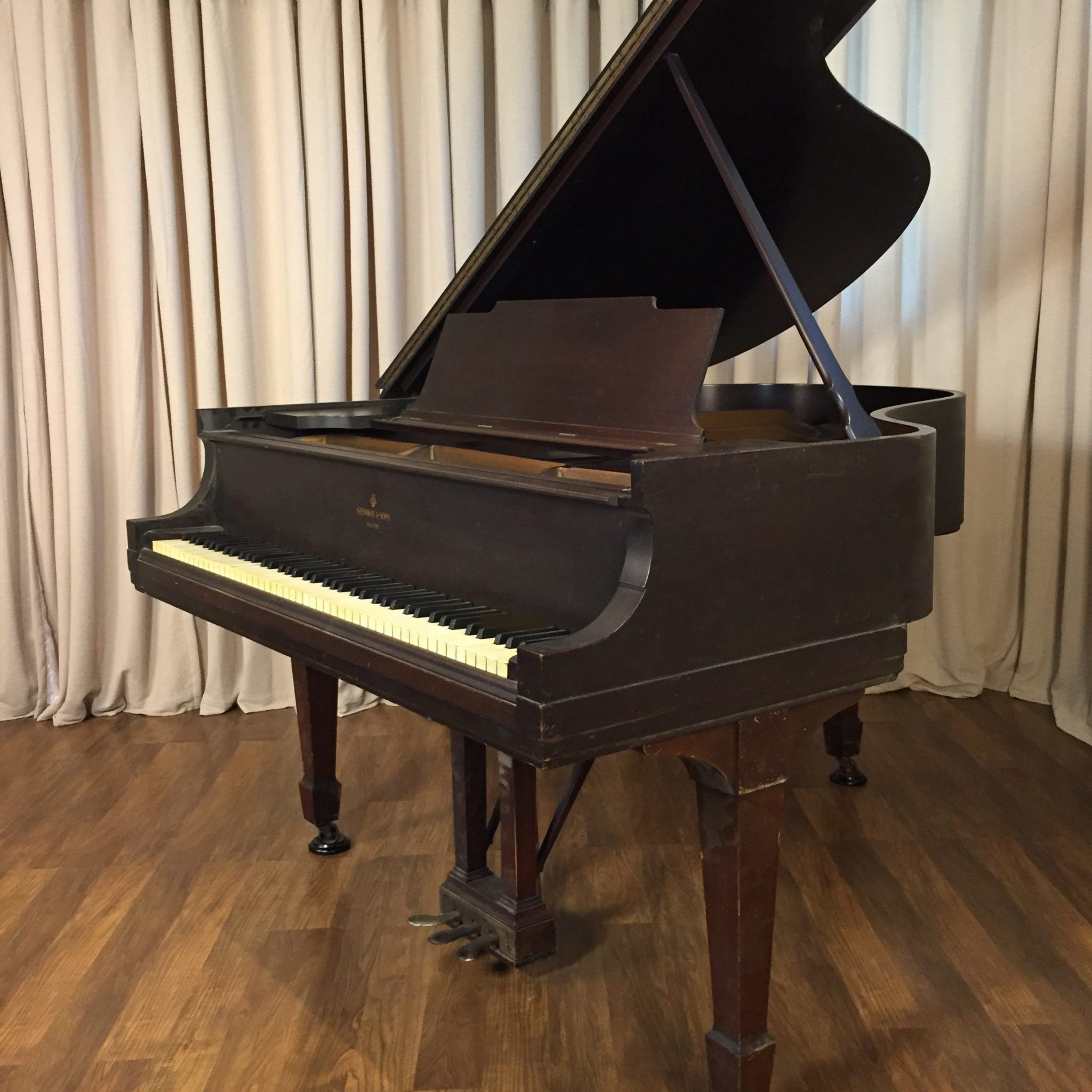 steinway m traditional style mahogany original condition