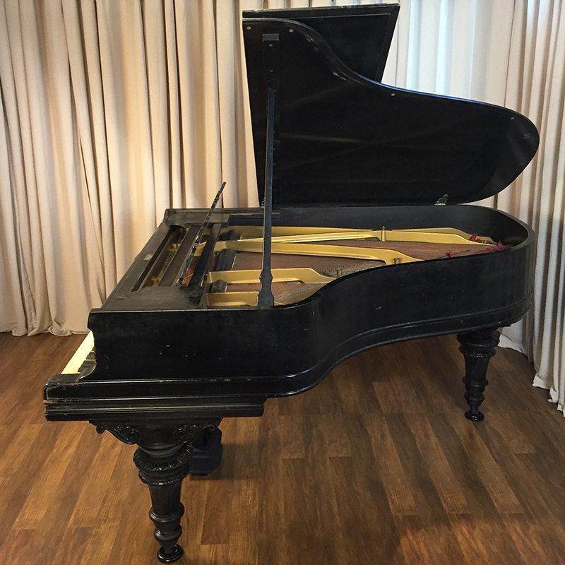 steinway a grand piano victorian style ebony original condition