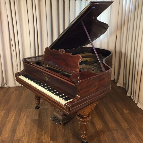 steinway model a grand piano victorian style mahogany original condition