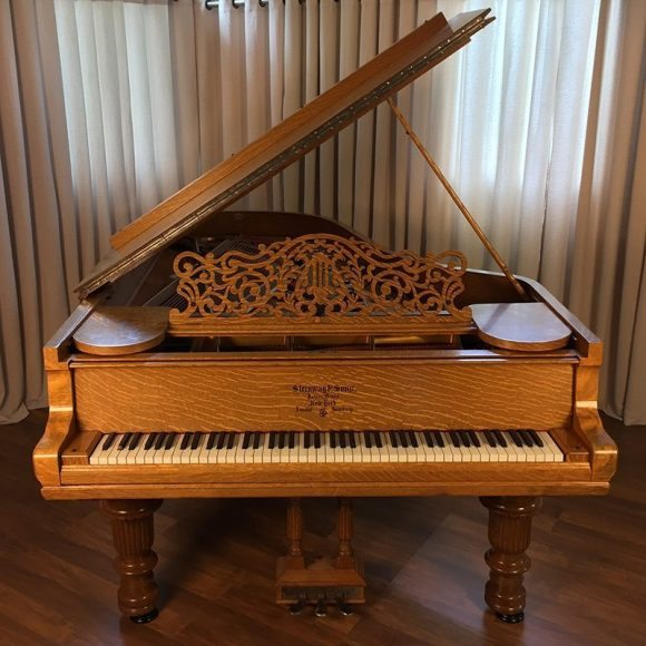 1890 Steinway Victorian Oak Model C Grand Piano Piano Restoration Amp Sales Nationwide Steinway