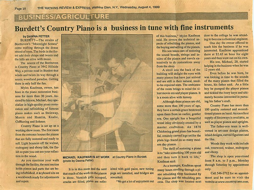 Vintage Article
