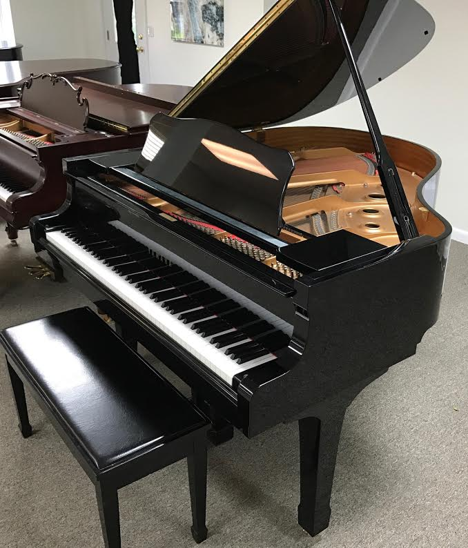 1996 yamaha c1 grand piano in polished ebony piano